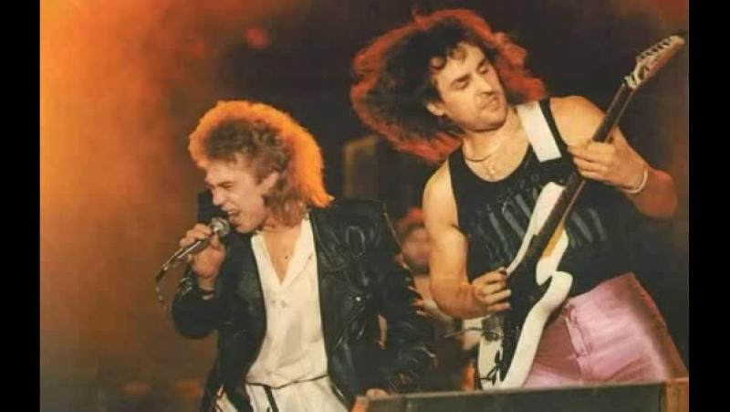 Rock in the USSR _ группа КРОСС - Серое все вокруг, Полный вперед _ 1987г.