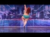 Современная американская девушка - Полярный танец ???