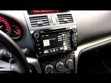 Магнитола LeTrun на Mazda 6 2011 года