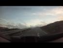 Дорога на высоте 1000 метров над уровнем моря