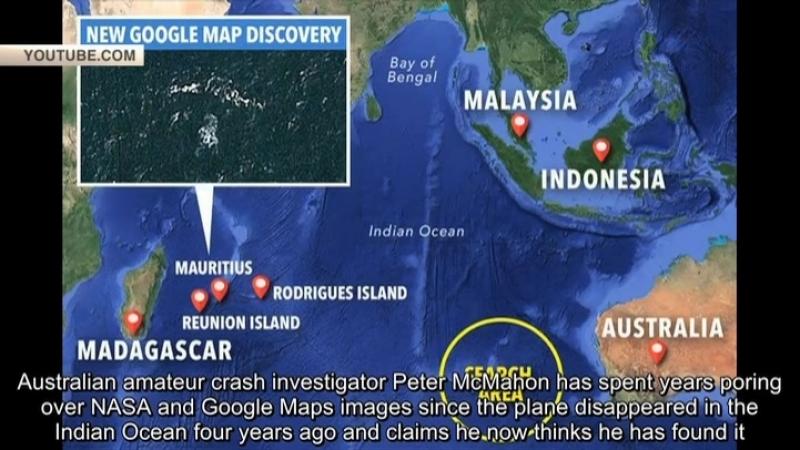 Пропавший малайзийский Boeing «нашли» на Google Earth
