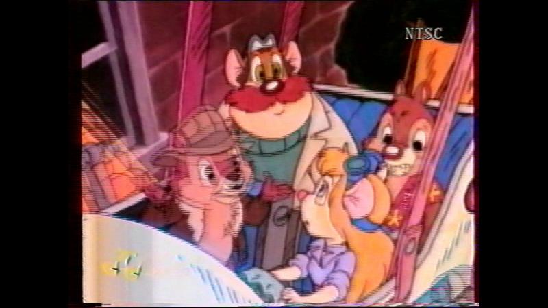 Чип и Дейл. Удивительная собака Флэш. (СТС-NTSC, 1997)