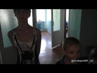 Сегодня - интервью с детьми, эвакуированных из поселок Донецкий ЛНР