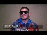 Диллон Данис о своём подписании в Bellator, отношении к противникам и Конору МакГрегору (русская озвучка)