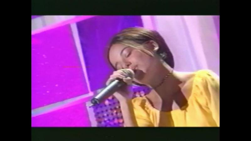 Alizee - Parler Tout Bas (2001-05-27. Vivement Dimanche)