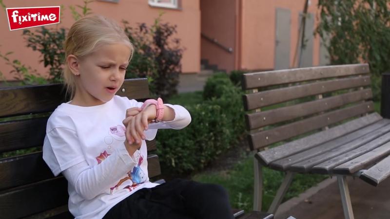 Обзор детских часов телефона Фиксики