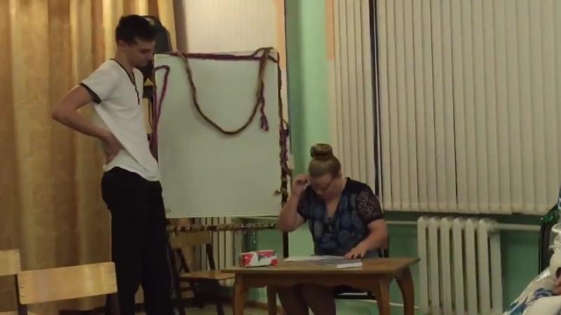 Stsenka na novy god v shkole 39 Kontrolnaya 39