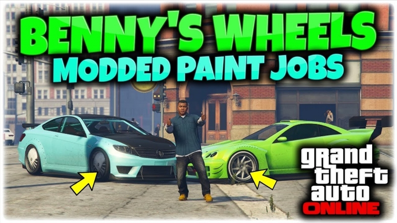 [Muky] GTA 5 How To Mod Benny's Wheels On Any Car GTA 5 Online 1.42 (GTA 5 MODDED CARS PS4)