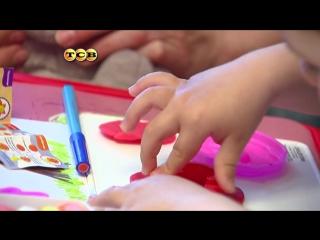 Как научить ребёнка лепить?