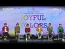 180117 JBJ 2nd Mini Album True Colors Showcase JOYFUL COLORS @ TongTongTv
