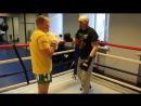 Уходы с линии атаки в профессиональном боксе контратаки со смещением от Николая Талалакина