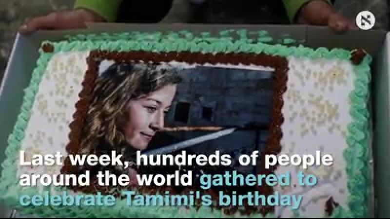 'Free Ahed ' Des militants du monde entier appellent à la libération et célèbrent le 17ème anniversaire de l'adolescent palestin