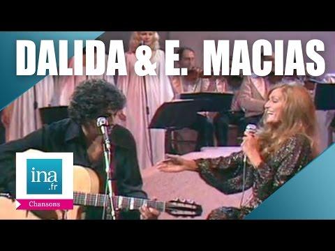 Dalida et Enrico Macias Bambino   Archive INA
