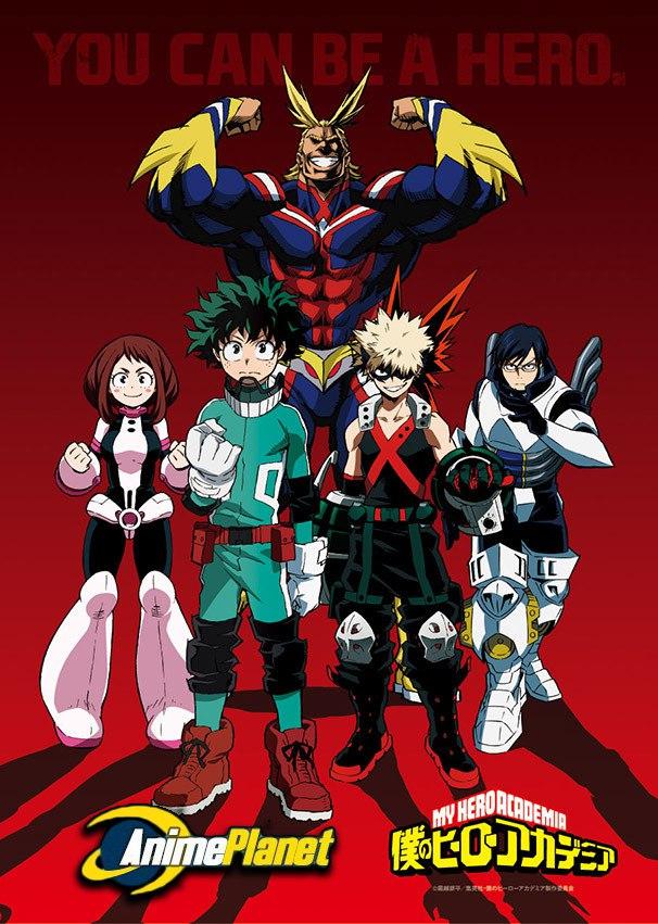 Моя геройская академия / Boku no Hero Academia 1 сезон