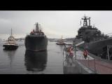 Встреча экипажа большого десантного корабля «Александр Отраковский» в Североморске