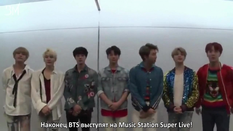[RUS SUB][22.12.17] Music Station Super Live Video Message