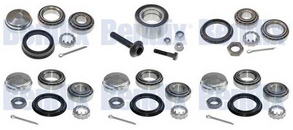 Комплект подшипника ступицы колеса для AUDI CABRIOLET (8G7, B4)