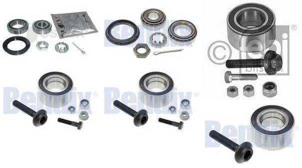 Комплект подшипника ступицы колеса для AUDI COUPE (89, 8B)