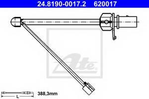 Сигнализатор, износ тормозных колодок для AUDI R8 Spyder