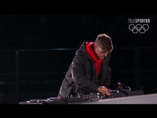 2018 Winter Olympics closing ceremony in PyeongChang | Martin Garrix
