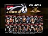 James Bond 007 Bande-Annonce VHS promo Collection Gold