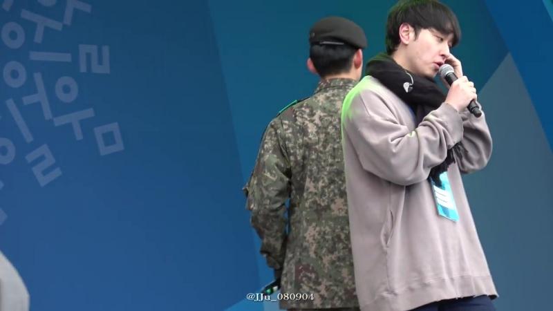 [Фанкам] 180219 2PM - I'll Be Back (Фокус на Тэкёна) @ 2018 PyeongChang Winter Olympic Headliner Show - Rehearsal
