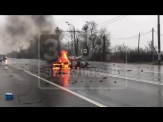 Смертельная авария на Рязанском шоссе.