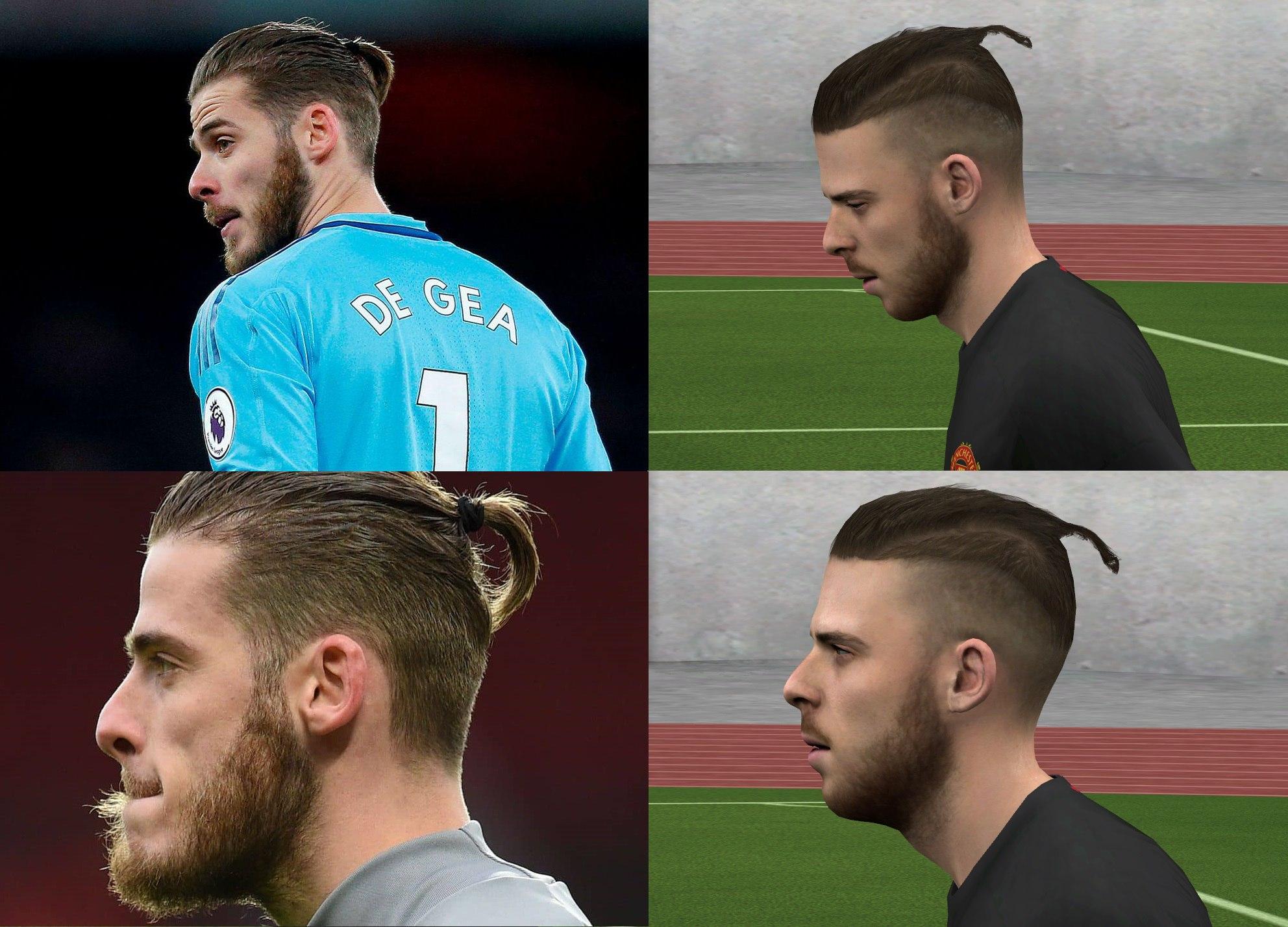 De Gea New Hair Fifa 14 At Moddingway