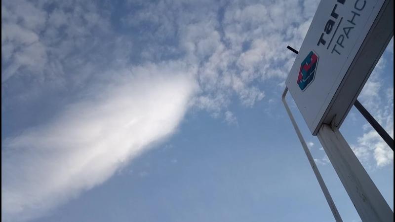 Татарстан обработали химтрейлами а потом облучили антеннами и со спутника