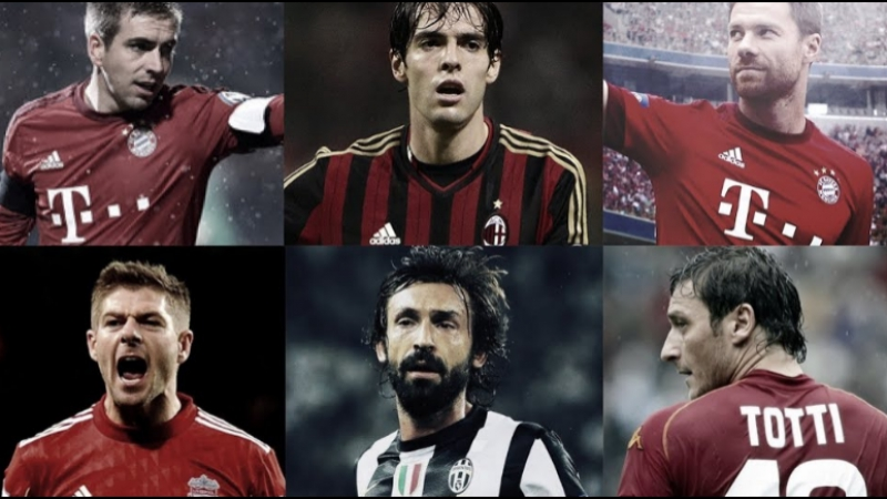 Totti • Xabi Alonso • Lahm • Kaká • Pirlo • Gerrard — See You Soon Warriors