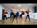 Kelly Clarkson - Whole Lotta Woman - jazz-funk choreo by Evgenia Panda - group 2