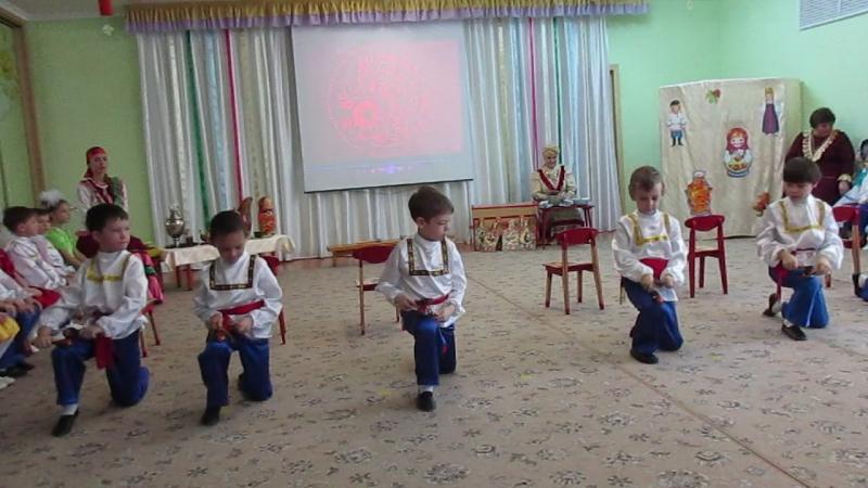 MVI 1532Мастер класс Русский сувенир в 95 детском саду г Омска