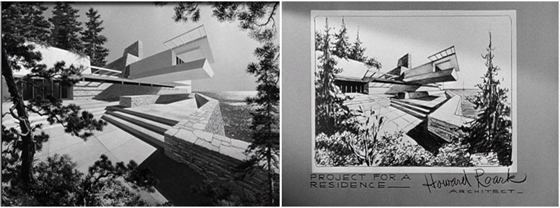 Проекты выполненные архитектором Говардом Рорком.