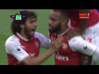 Арсенал - Лестер 4:3. Полный обзор матча (HD)