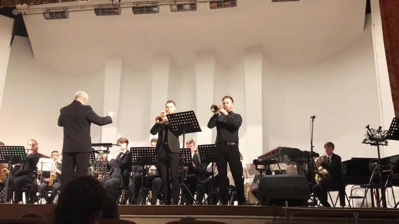 С. Чернецкий. Концертная полька для 2-х корнетов (исп. А. Ершов и Д. Смирнов) (1)