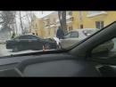 Столкновение Акуры и Шевроле на улице Александра Невского