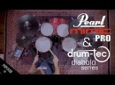 Pearl Mimic Pro sound demo with drum-tec diabolo electronic drums