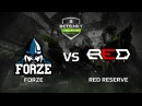 ForZe vs Red Reserve, map 1 mirage, Challenger Series