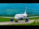 Airbus A319 Aurora Take Off at Vladivostok International Airport / Взлет A319 аэропорт Владивосток