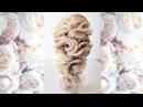 Воздушная текстурная греческая коса