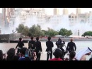 180116 exo in dubai at dubai fountain burj khalifa