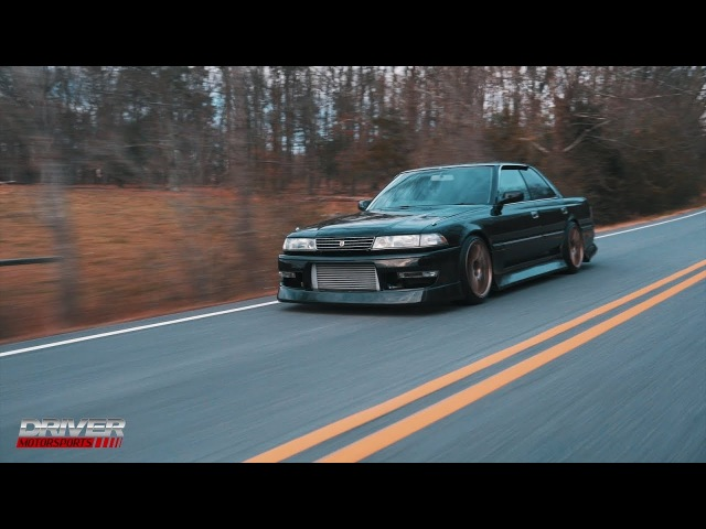1991 Black JZX81 Toyota Mark II 1JZ-GTE with R154 From Driver Motorsports