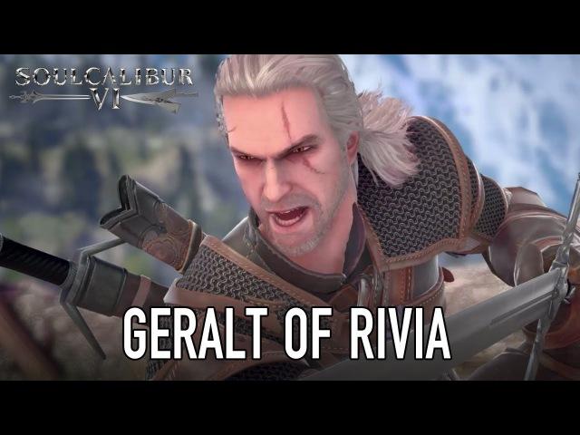 SOULCALIBUR VI PS4 XB1 PC Geralt of Rivia Guest character announcement trailer