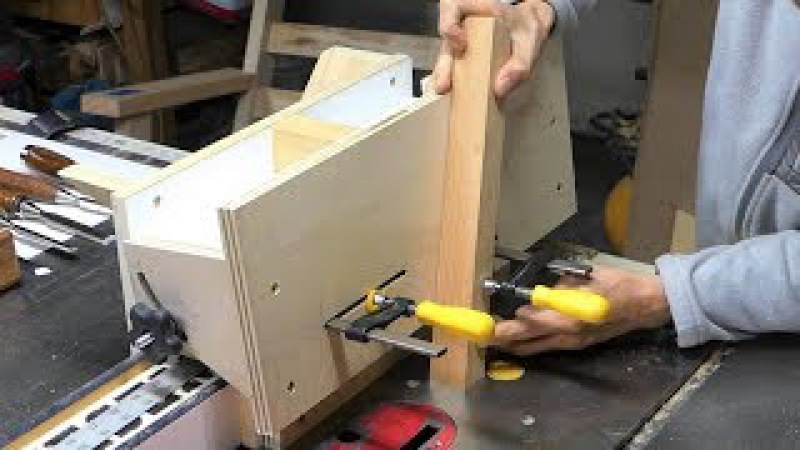 Multi-tenoning jig and spline,raised panel jig ( all in one )