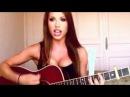 Сексуальная девушка исполнила AC DC Highway to Hell