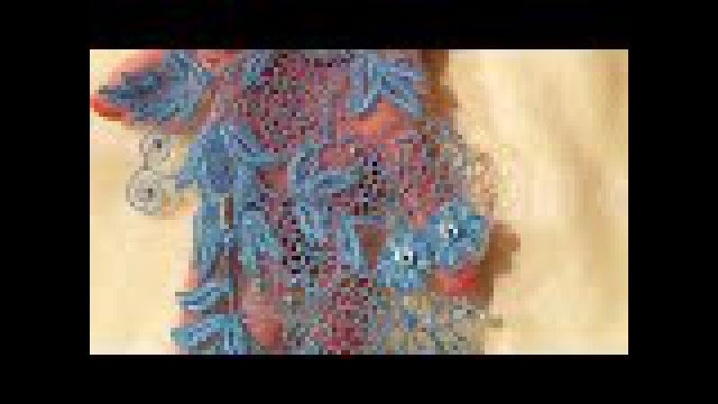 Вышивка на швейной машинке КРУЖЕВА🌷Новая версия🌷Sewing Machine Embroidery Lace🌷Stickerei Spitze