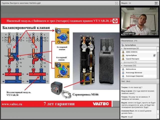 Группы быстрого монтажа Varimix вебинар 12 02 2015