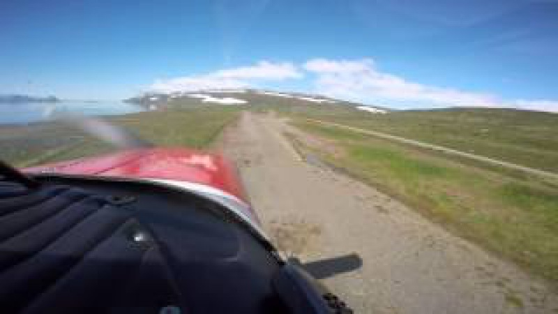 Flying in Iceland - Piper Tripacer
