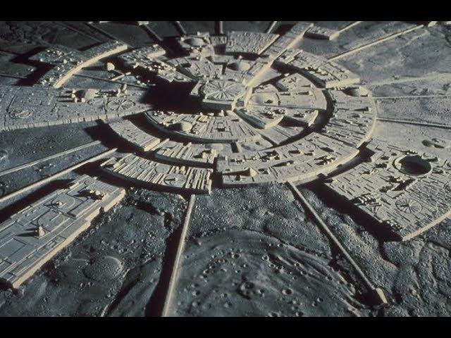 Самое Загадочное Сооружение на Луне Лунный Город