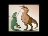 Rothar (dinosaur - T-rex) vore comic - Survival of the hungriest